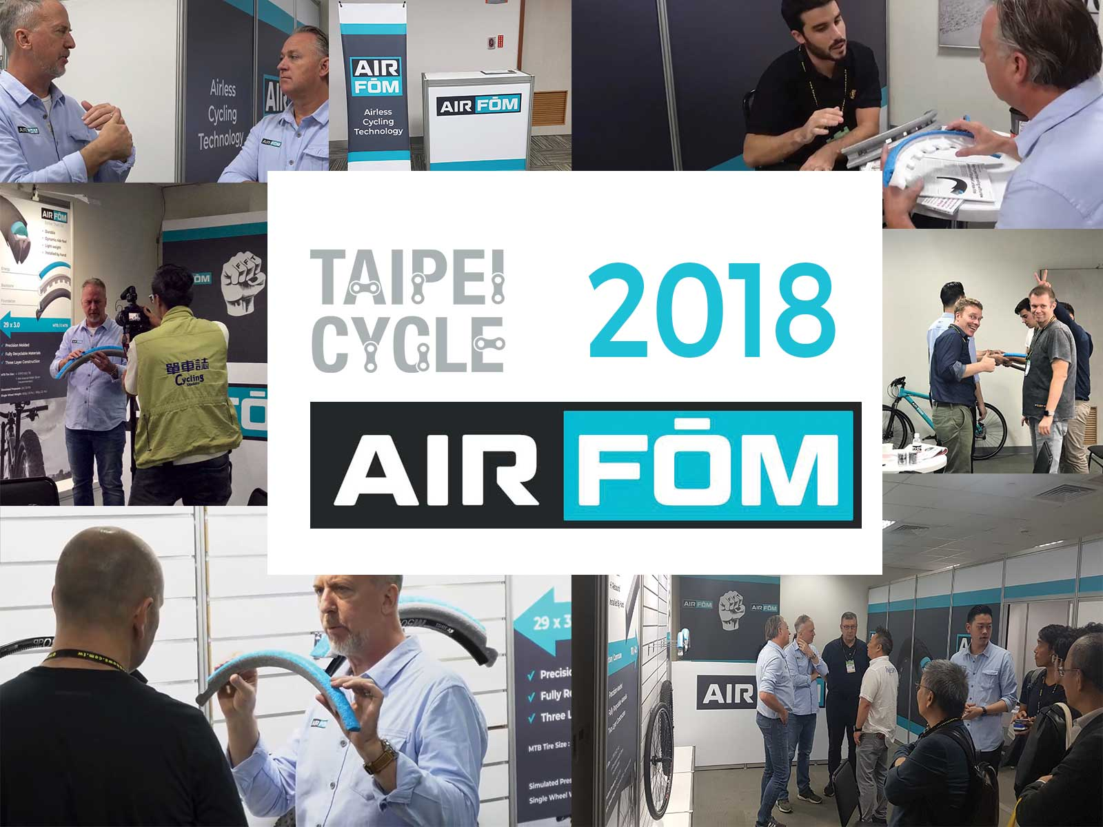 Airless Cycling a huge hit at Taipei Cycle 2018