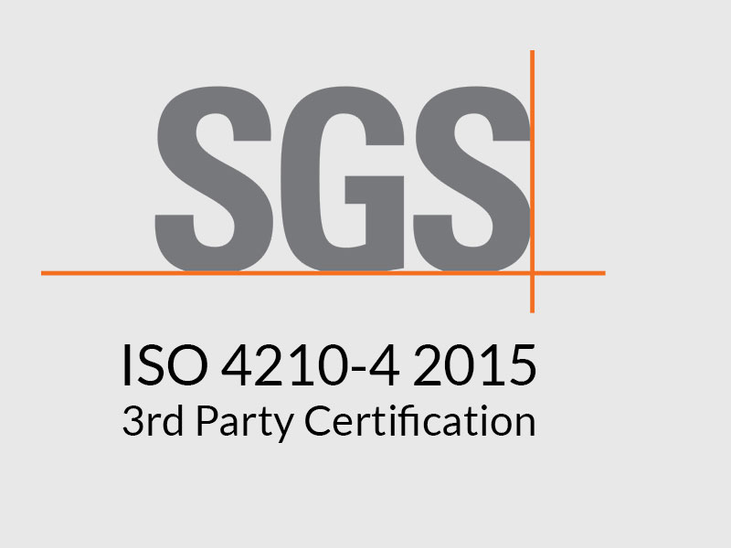 Air Fom airless inserts have passed 3rd party (SGS) test verification for ISO 4210-4 2015
