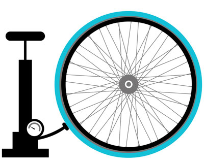 No Flats or low pressure bike share tires