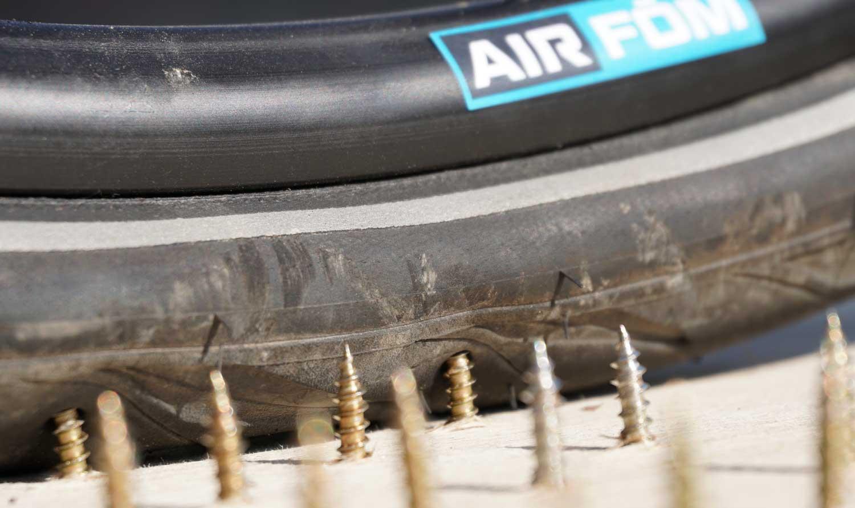 no more flat tires