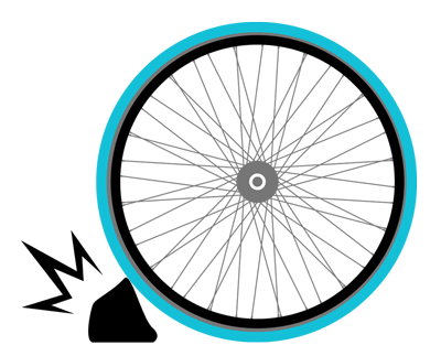 Best protection No Flats or puncture bike share tires